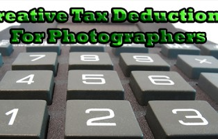 Creative Tax Deductions For Photographers