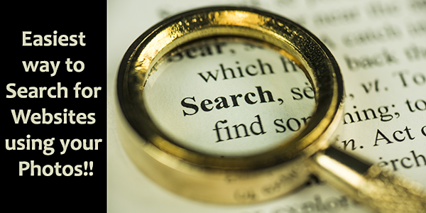 Easiest Way to Search For Websites Using Your Photos
